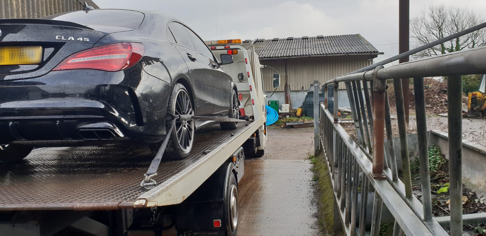 Rescuing, transporting and recycling cars